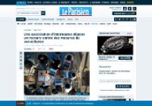 Capture d'écran : Le Parisien -  Une association d'internautes dépose un recours contre des mesures de surveillance